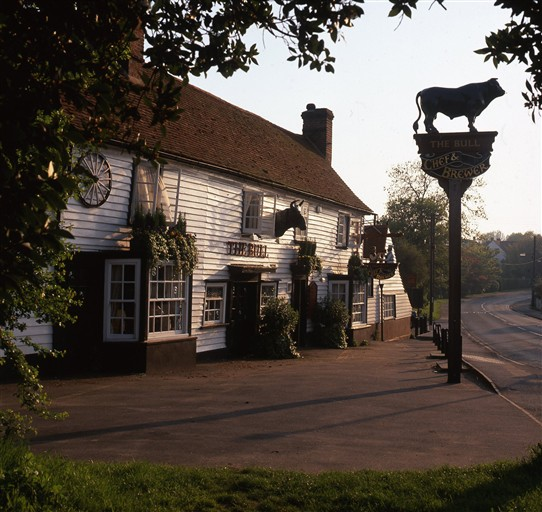 Photo:The Bull at Hockley looked very traditional in Summer