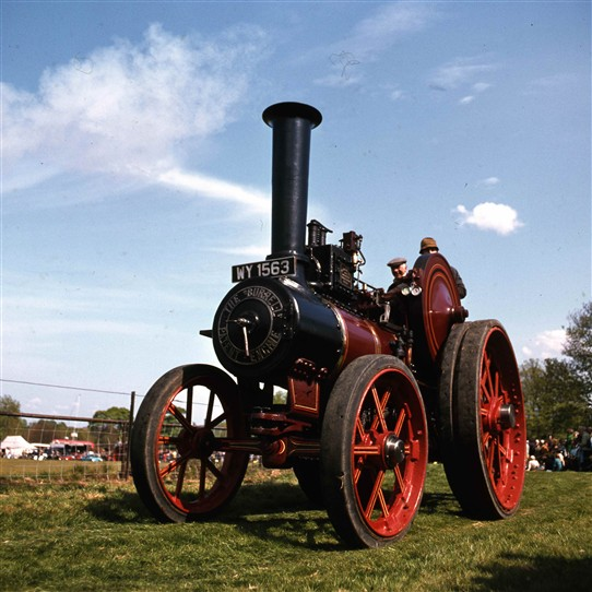 Photo:Steam Traction Engine