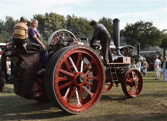 Photo:Steam Traction Engines. Fun for all the family.