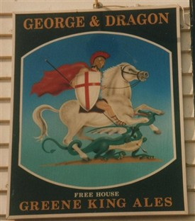 Photo: Illustrative image for the 'George and Dragon, Churchend' page