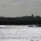 Photo:Little and Great Wakering church spires to the south and east of Barling