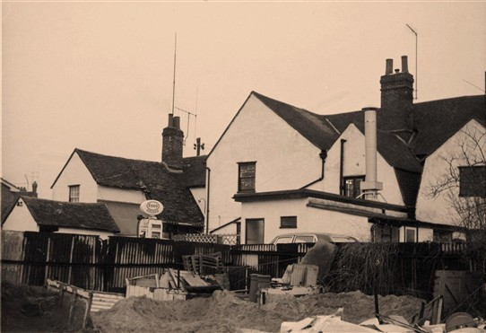 Photo: Illustrative image for the 'North Street Rochford, rear view' page