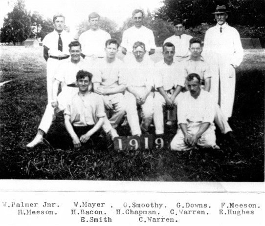Photo: Illustrative image for the 'Cricket History' page