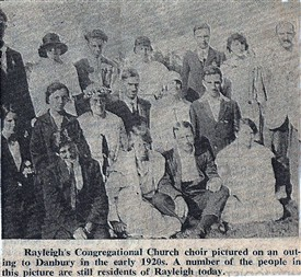 Photo: Illustrative image for the 'Rayleigh Congregational Church Choir' page